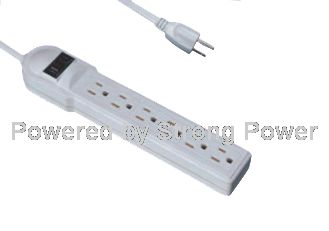 America UL CSA power strip QJ-6CXBBS