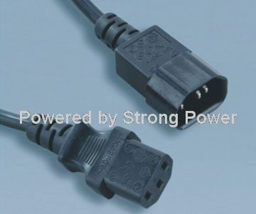 America_UL_power_cords_ST3_IEC_60320_C13_to_SZ3_IEC_60320_C14