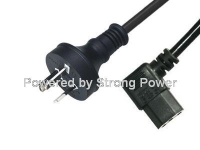 Australia_SAA_approval_power_cord_D06_to_ST3W_C13