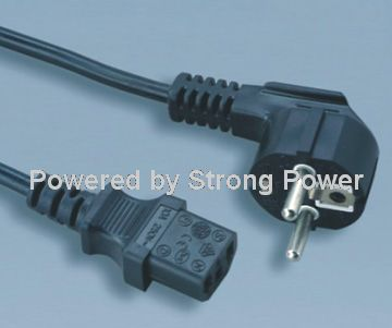 European_VDE_CEE_EN50075_power_cord_JT003_to_ST3_C13