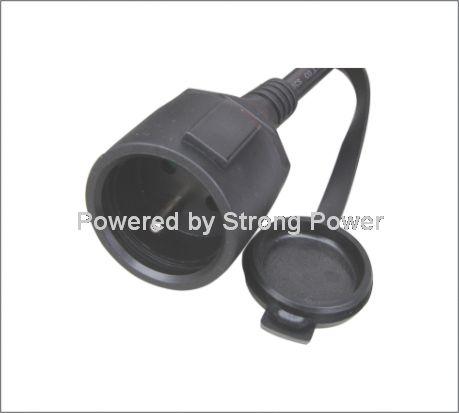 European VDE CEE EN50075 power cord XH03-R