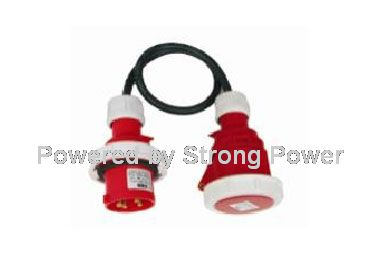 European ce industry plugspower cord XX-59