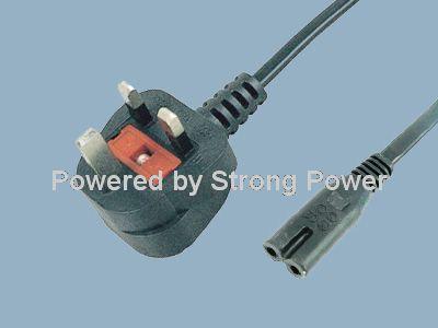 UK BS 1363 A Plug Y006A to IEC C7