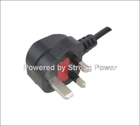 UK BS 1363 A Plug with fuse Y006A