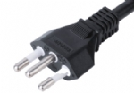 Brazil UC standards power cord YHB-3