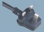 British BS 1363 A Power Cord Y006B