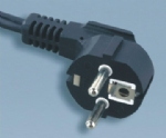 European VDE Schuko power cord